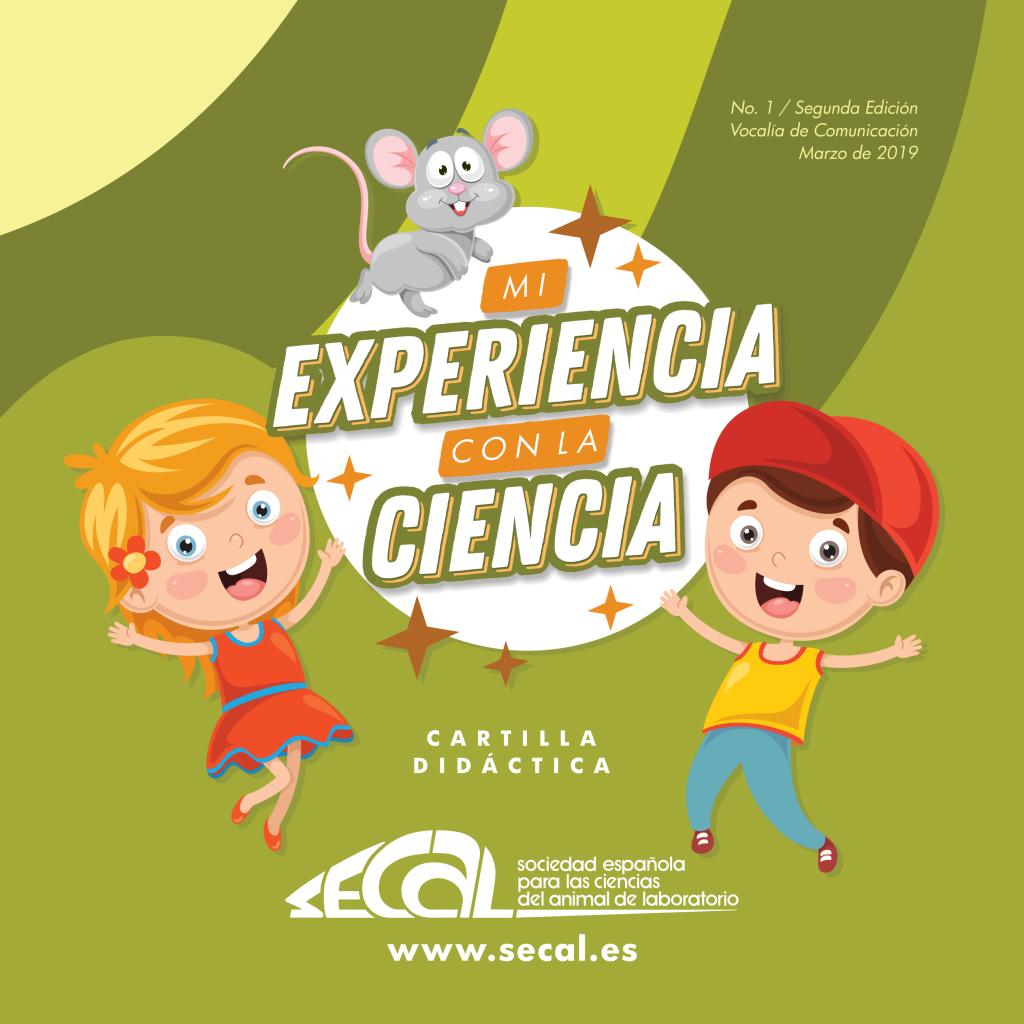 cartilla - experimentación animal para niños