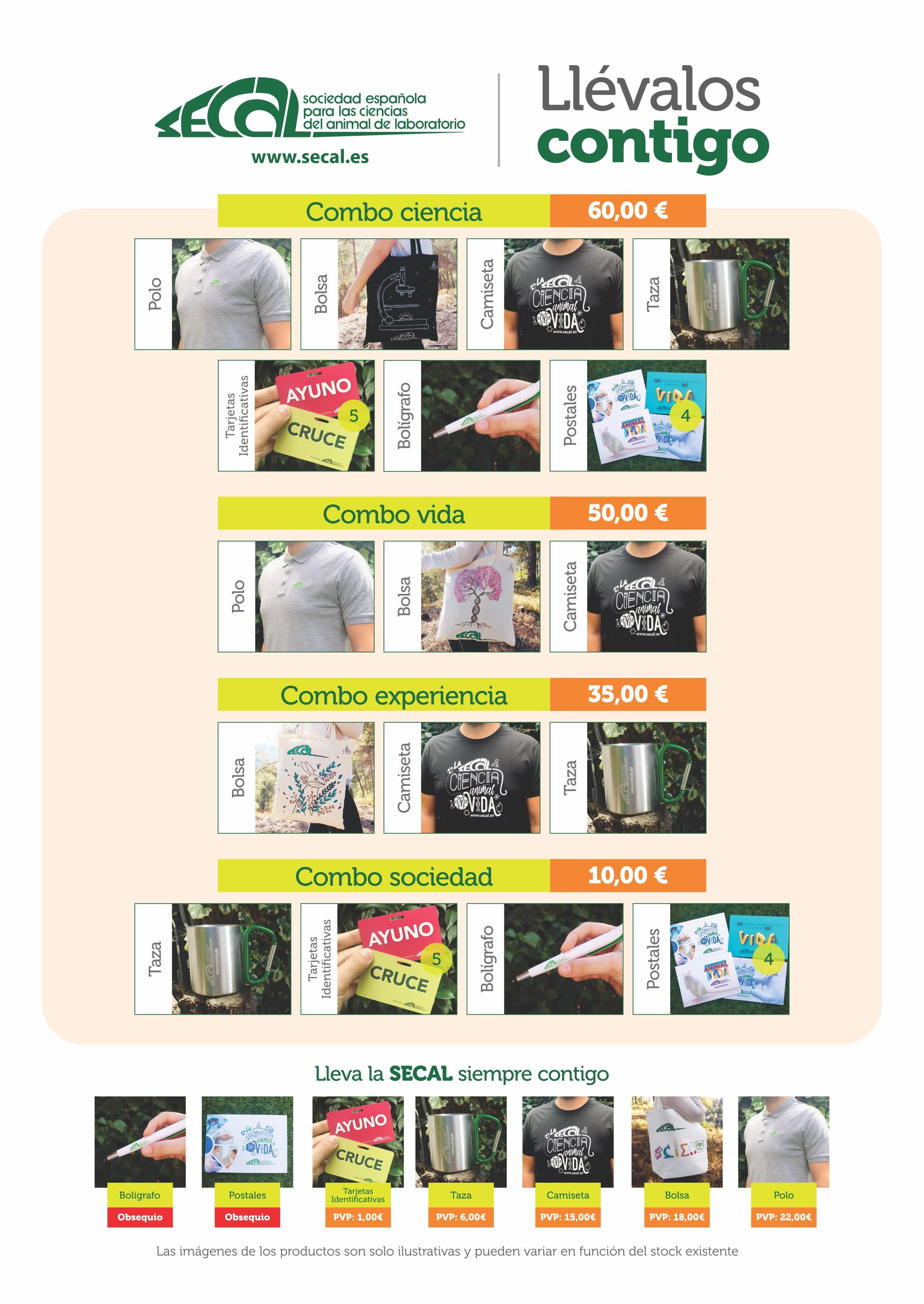 poster productos promocionales