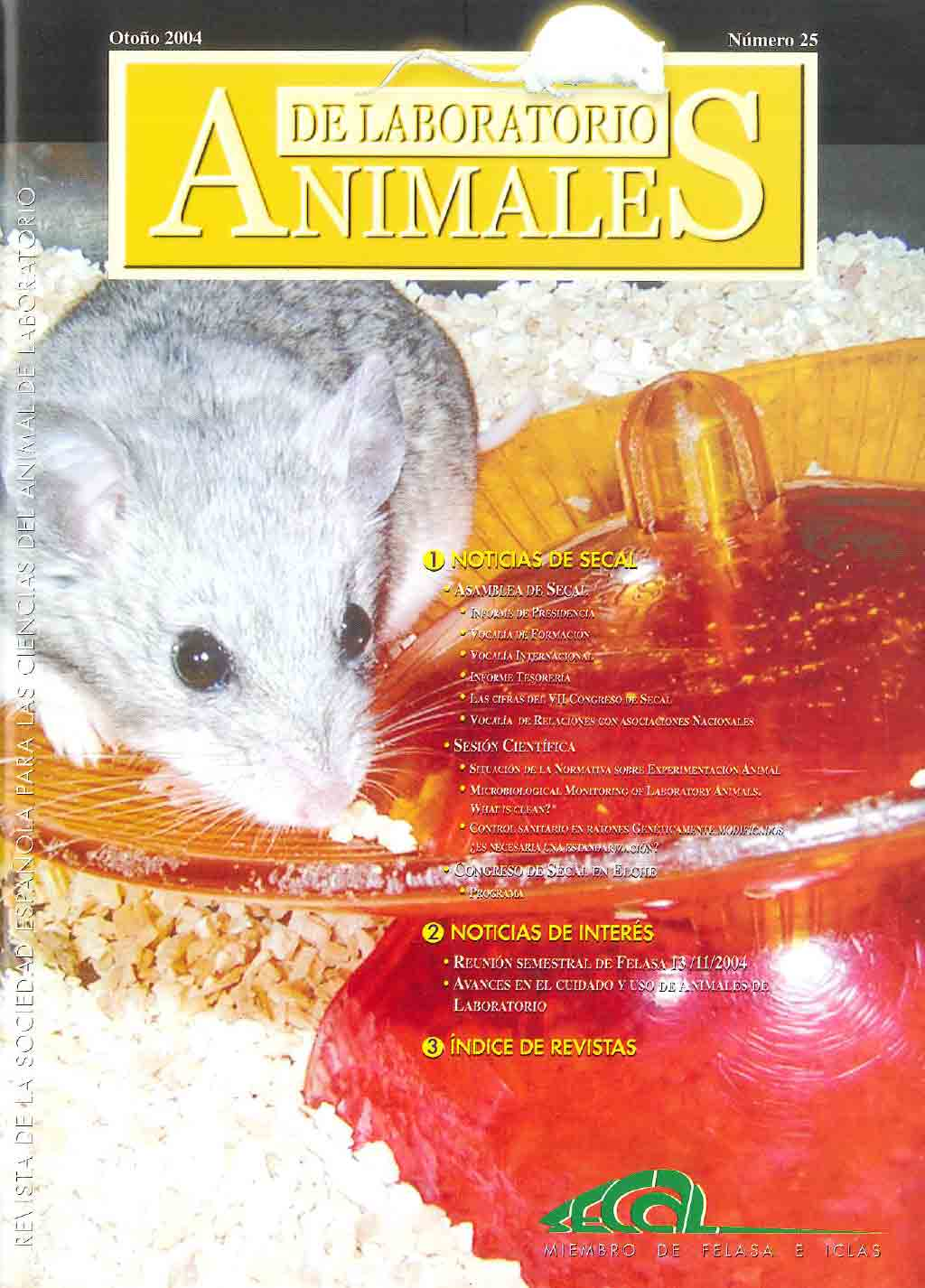 portada revista secal 25