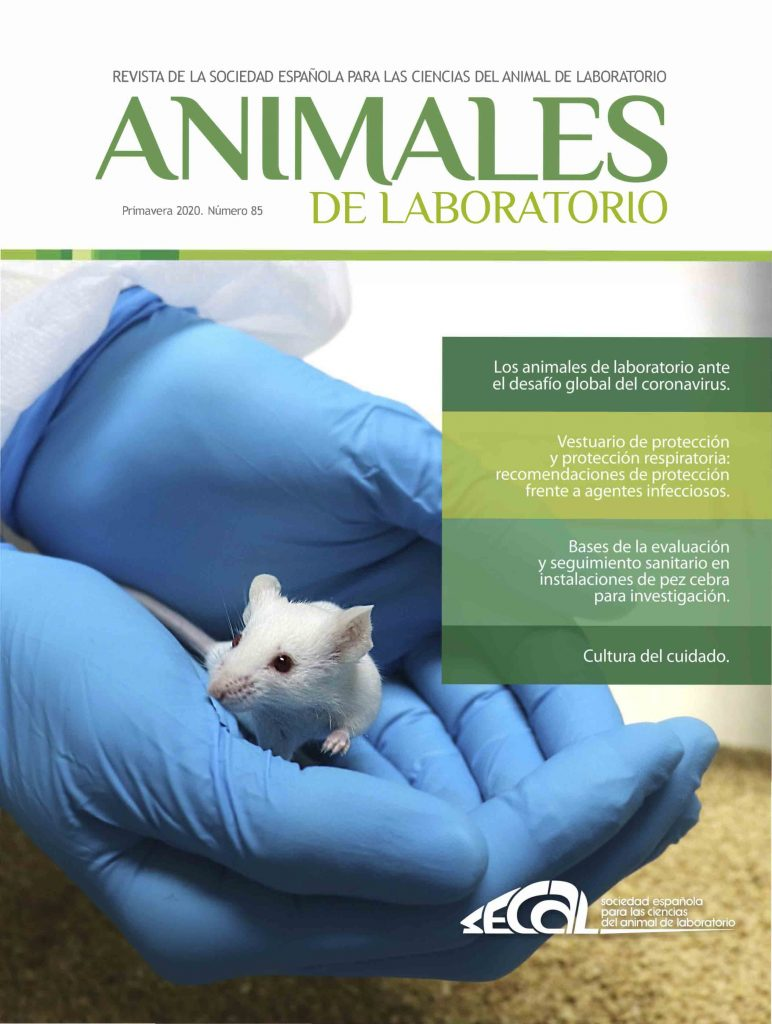 revista animales de laboratorio 85